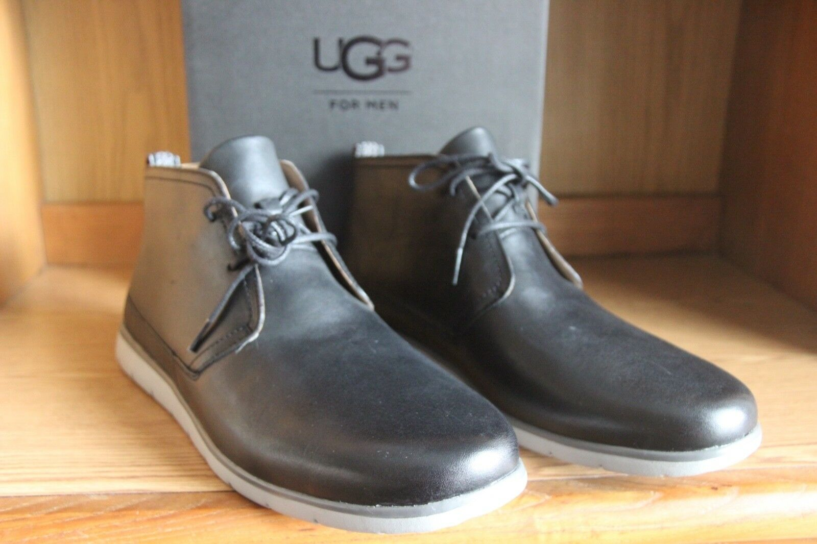 425cbf2cce4 UGG Freamon Chukka Boot Men Black Waterproof Size 12 1017277