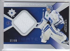 2014-15-UD-ULTIMATE-JONATHAN-BERNIER-JERSEY-99-GAME-USED-MATERIALS-Avalanche