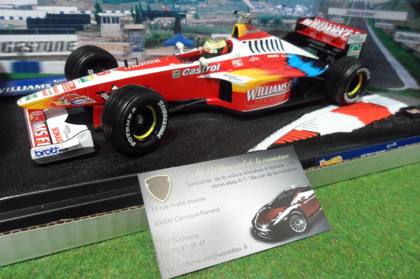 benvenuto a comprare F1 WILLIAMS FW21 SCHUMACHER    6 au 1 18 caliente ruedaS 24622 formule 1 miniature  sconto