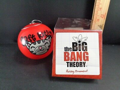Big Bang Theory Christmas Tree Plastic Ball Ornament ...