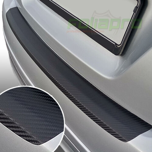 Seuil Lackschutz aluminium pour VW Sharan 1 Bj 2000 à 2010 carbone noir