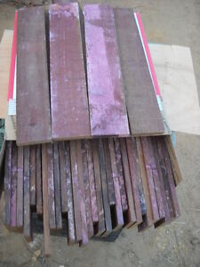 """WINE SOAKED SOLID OAK STRIPS STAVES 13-3/4"""" LONG = CHEAP=NICE="""