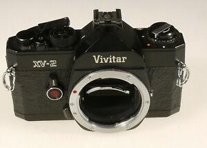 PRL-VIVITAR-XV-2-FOTOCAMERA-ANALOGICA-FOTORIPARATORE-BODY-SPARE-PARTS-REPAIR