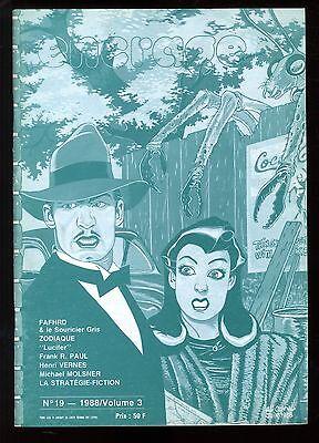 ENCRAGE n°19  Frank R. PAUL Michael MOLSNER  Jean de LA HIRE  Lucifer  1988