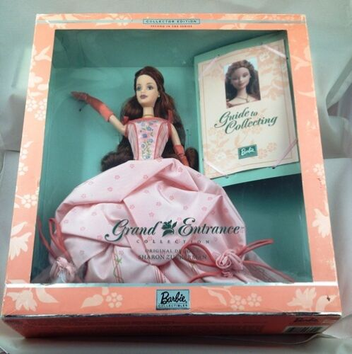 2002 Barbie Doll Pink Grand Entrance Collector Edition 53841 Sharon Zuckerman