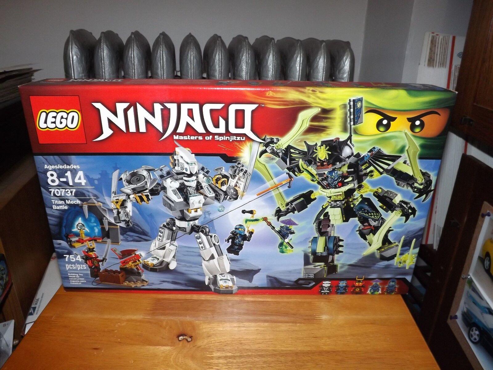 LEGO, NINJAGO, TITAN MECH BATTLE, KIT  70737, 754 PIECES, NIB, 2015