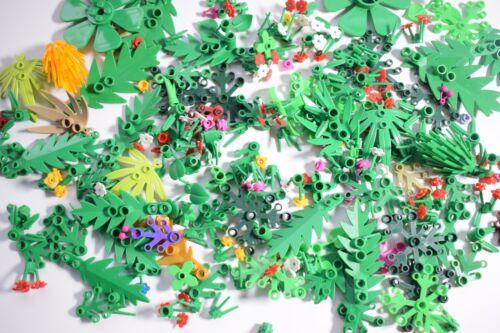Lego 25x Random Plants Flowers Bushes Green Assorted
