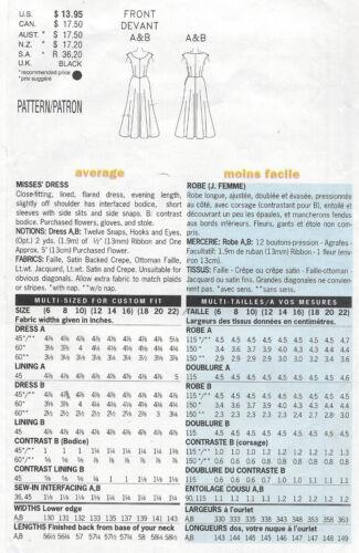 "R414 1948 Vintage Sewing Pattern DRESS B34/""-36/""-38/"""