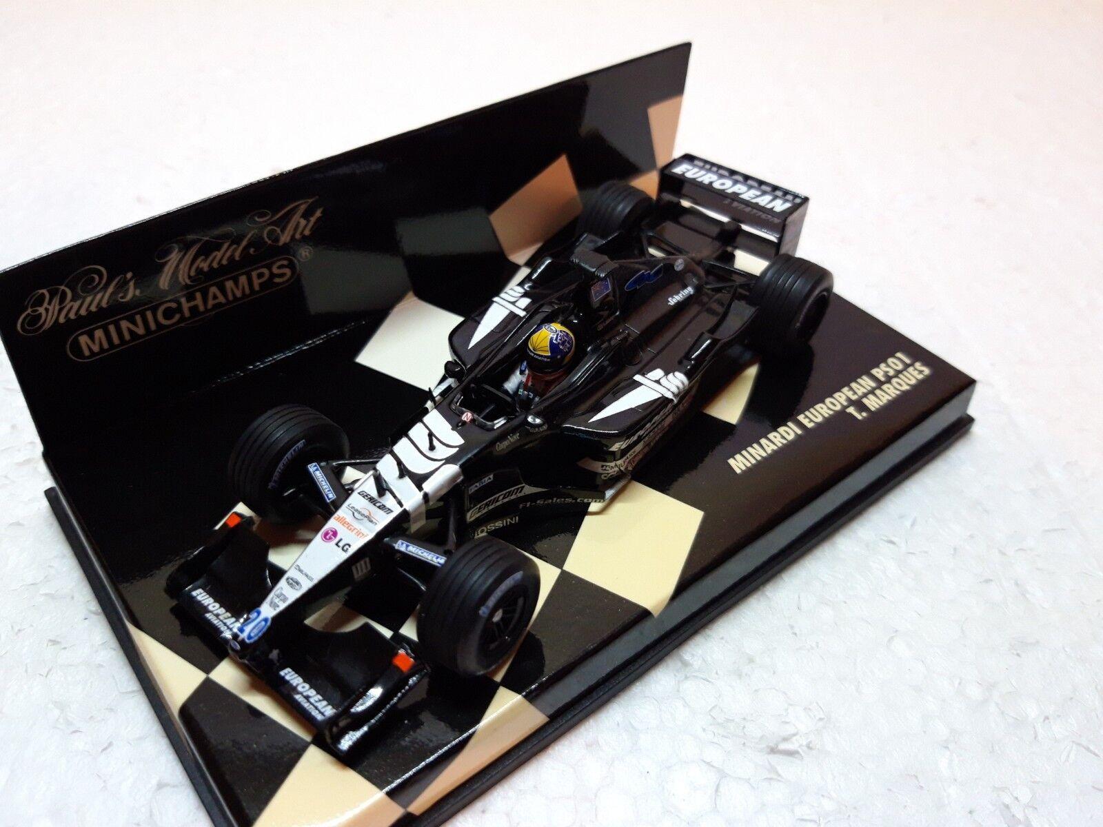 Minardi European PS01 T. Marques • 2001 • Minichamps • 1 43