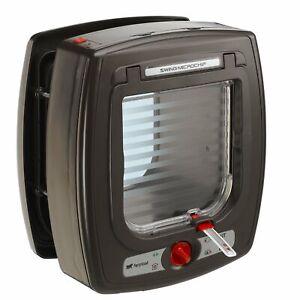 Ferplast Swing Microchip Chatière à Puce électronique, 22.5 X 16.2 X 25.2 Cm, Marron-afficher Le Titre D'origine MatéRiaux De Qualité SupéRieure