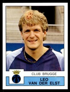 4fe4bce0a79 Panini Football 88 (Belgium) Leo van der Elst Club Brugge No. 102
