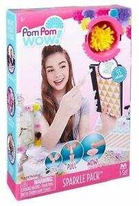 Maya-Toys-Pom-Pom-Wow-Sparkle-Pack-Ages-6-New-Toy-Girls-Boys-Play-Game-Paint