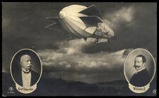 Zeppelin Fotokarte, 1909 Brief (1800224416)