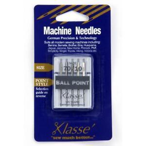 Klasse-Ball-Point-sewing-machine-Needles