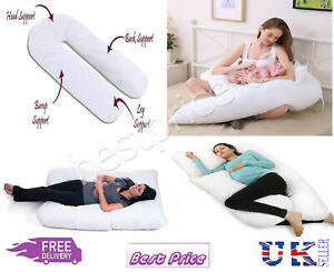 9ft /& 12FT U Shaped Pillow Total Body Comfort Ideal for Pregnancy /& Maternity Us