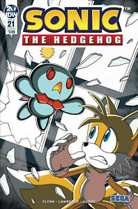 Sonic The Hedgehog 21 Hammerstrom Cover Idw Comics Video Game Sega Tails Ebay