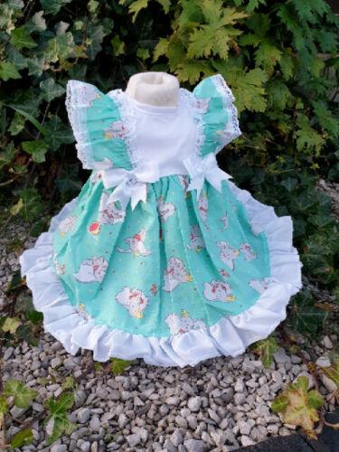Dream 0-6 ANNI DISNEY DUMBO per neonate Foderato Abito Estivo o Bambole Reborn