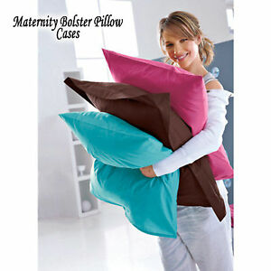 Maternity-Pregnancy-Bolster-Pillow-CASE-COVER-All-Size