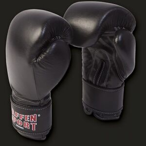 Paffen-Sport-Kibo-Fight-Boxhandschuhe-Fuer-Sparring-Training-Leder-10-16-Oz