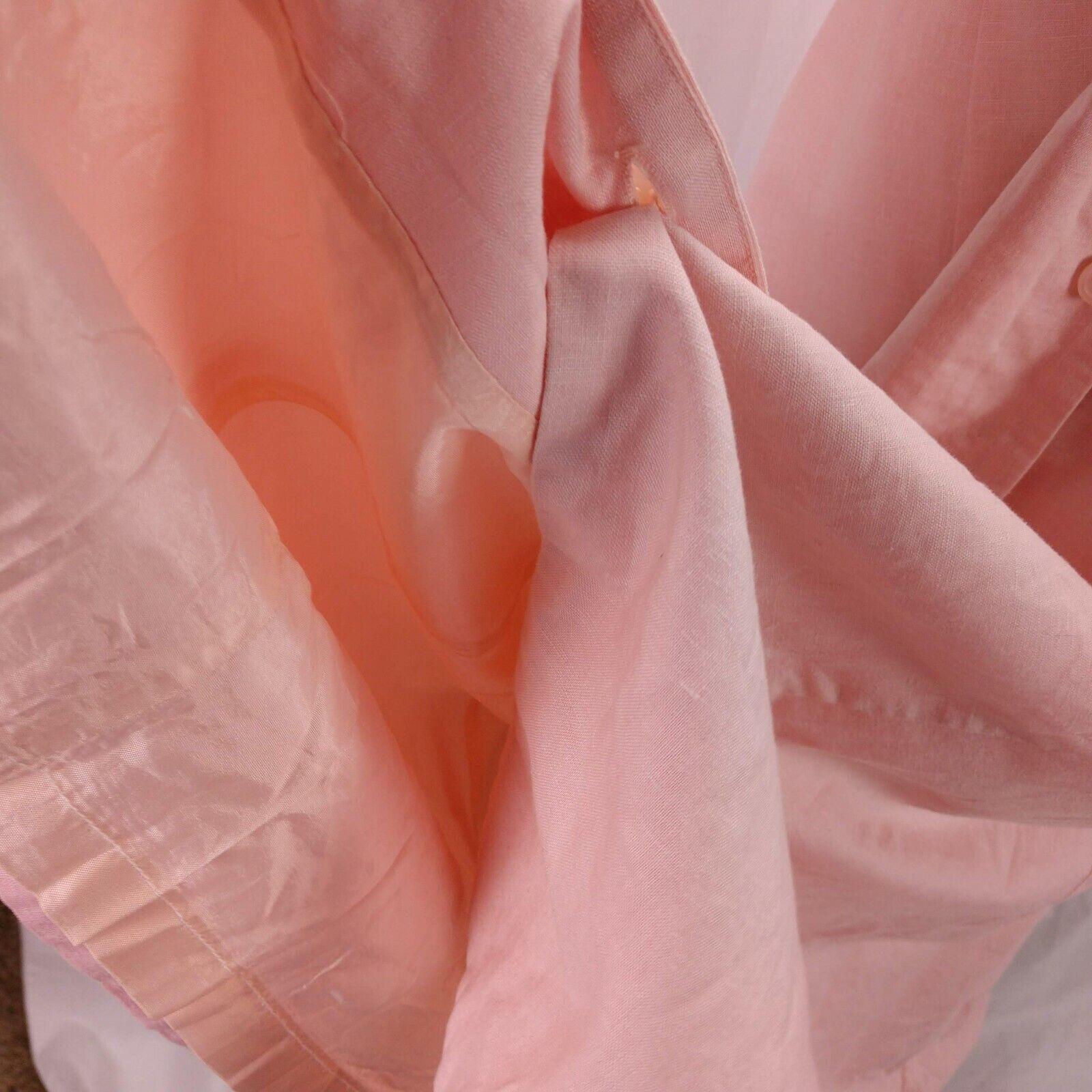 Vintage Laura Ashley Linen Eyelet Dress Size 14 P… - image 9