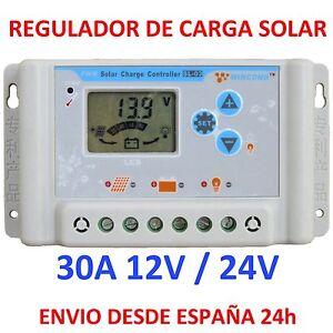 Regulador-de-Carga-Solar-30A-Display-LCD-12v-24v-Regulator-Charger-Programable