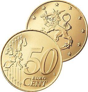 Ek // 50 Cent Finlande # Pièce Nueve : Sélectionnez une Année :