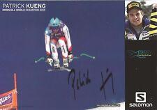 Autogramm Patrick Küng Ski alpine Schweiz Weltmeister 2015 portofrei SALOMON