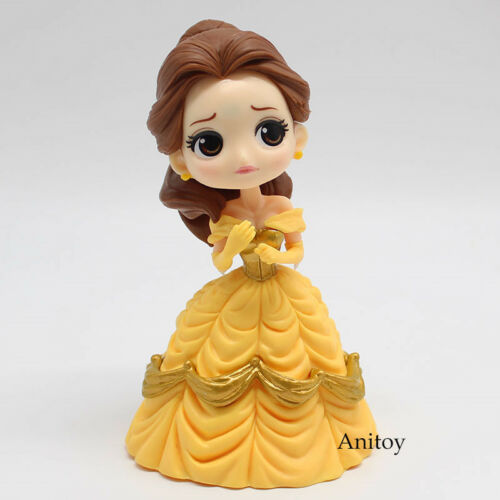Beauty and the Beast Belle Princess Q posket PVC Figure Collectible Toy 13cm