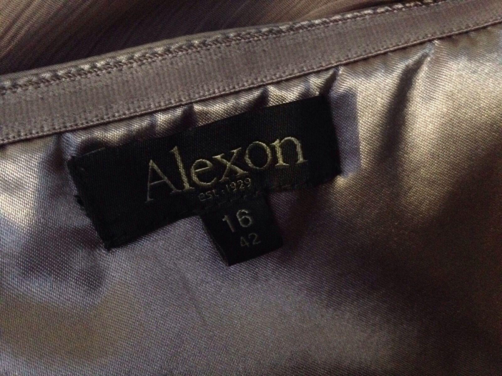 Onorevoli mozzafiato Alexon Alexon Alexon Abito Da Cocktail-UK16-ottime condizioni dabc1c
