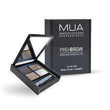 MUA Pro-Brow Ultimate Eyebrow Kit Highlighter Wax TWEEZERS POWDER GEL Fair Mid