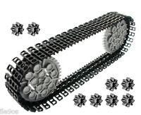 50 Lego Tread Links + 10 Gears (technic,nxt,rcx,ev3,robot,mindstorms,tank,crane)