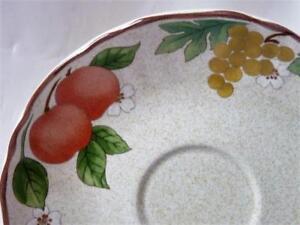 Mikasa Country Classics Fruit Panorama DC014 Saucer