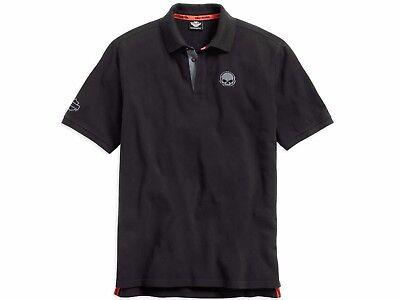 Genuine Classics Short Sleeve 99031-15VM Harley-Davidson® Large Mens Polo Shirt