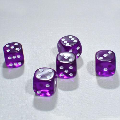15mm en el mix transparente knobel cubo//ojos cubo frobis cubo de juego 80 unidades