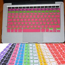 """Keyboard Protector Skin Cover f Macbook Air Pro Retina 13/"""" 15/"""" DK Sp UK DE FR US"""