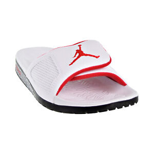 ffb88ccf78d1 Jordan Hydro III Retro Men s Slides White University Red Black ...