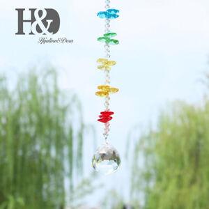 Handmade-Crystal-Rainbow-Suncatcher-Hanging-Ball-Prisms-Window-Home-Decor-30mm