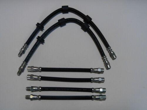 BMW 5er E34 Bremsschlauch-Satz links rechts 6 Bremsschläuche vorne und hinten