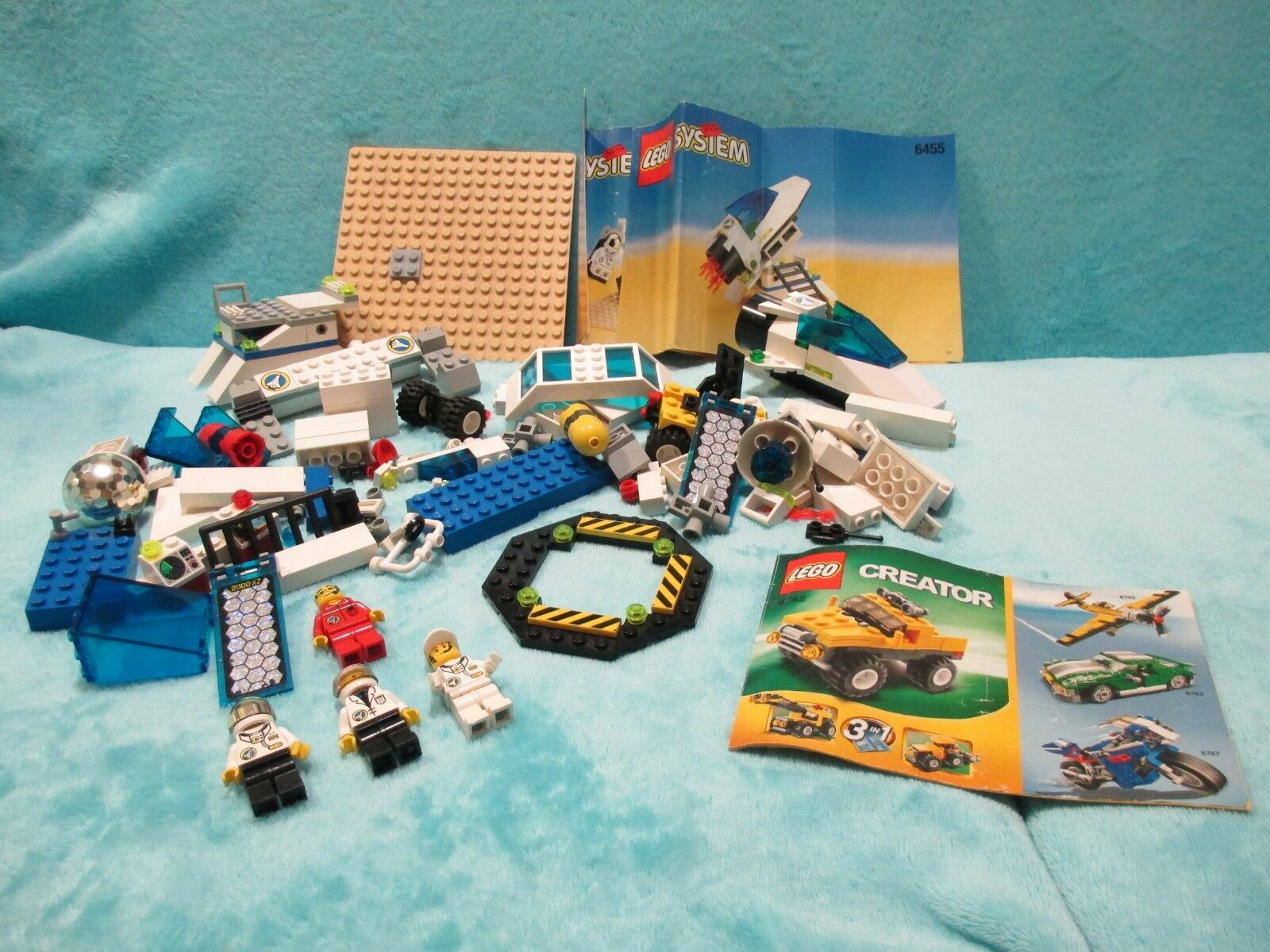 LEGO City Set 6455 - Space Astronaut Training Simulation Camp  Inc. Instructions