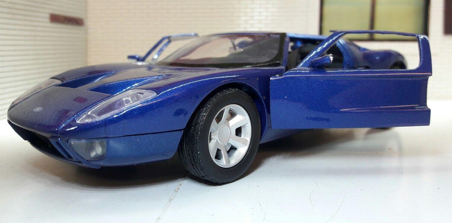 1 24 Escala 2005 Ford GT40 Gt Conceppto de Metal DeStorlekdo Coche modelllllerlero 73297