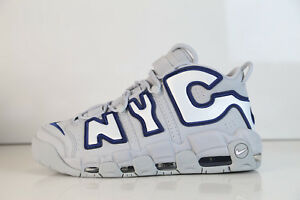 Nike Air More Uptempo NYC QS Wolf Grey Midnight navy AJ3137