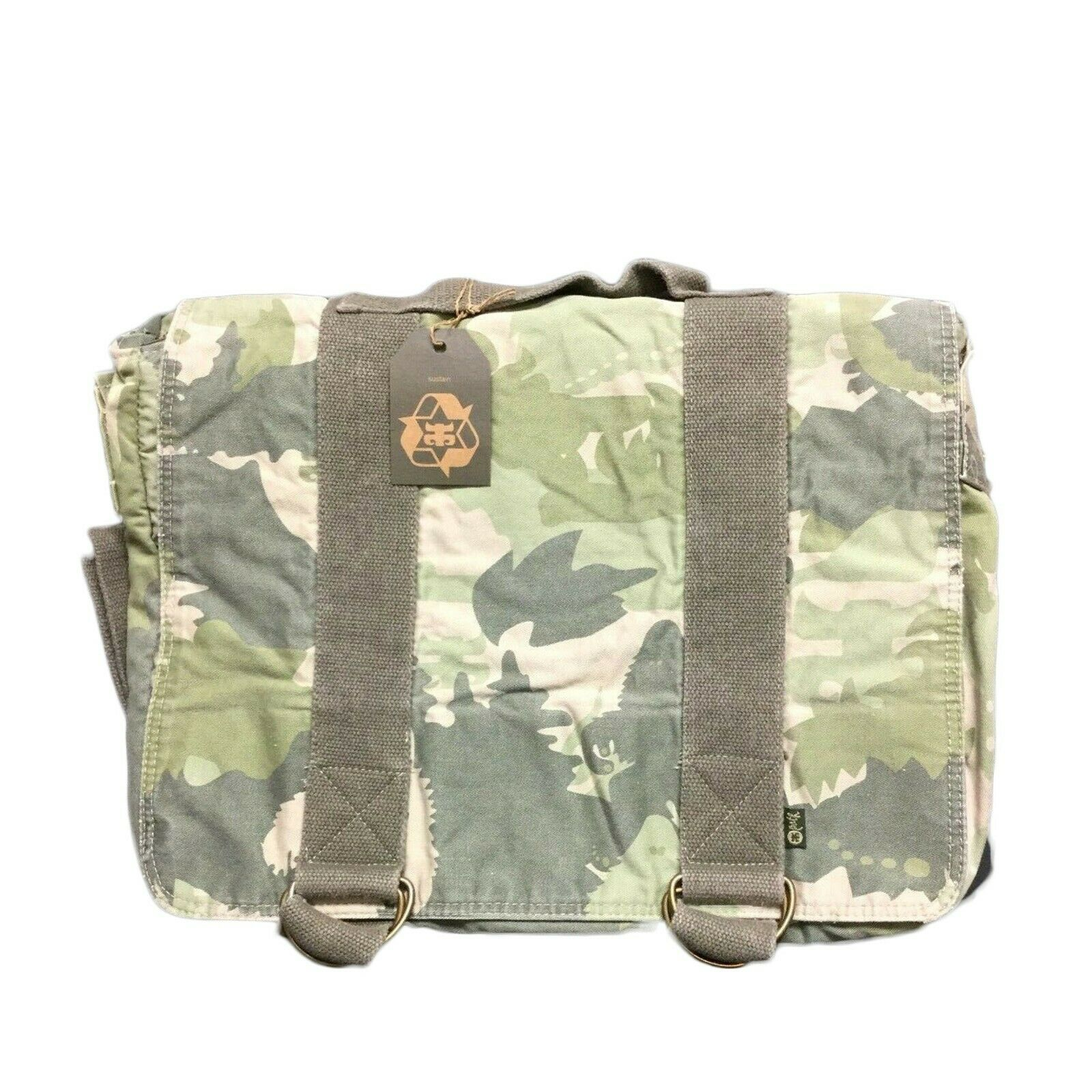 IPath Bigfoot Laptop Messnger Bag Camo Canvas Padded Case Utility Briefcase. Buy it now for 26.39