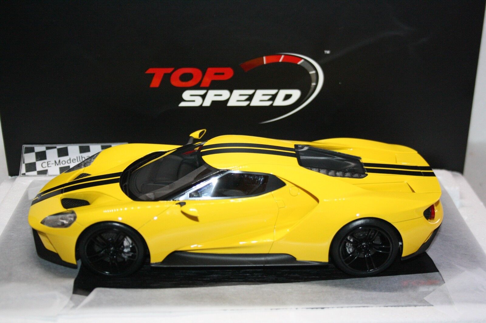 FORD GT Los Angeles Auto Show 2015  NOUVEAU  Top Speed TrueScale  1 18