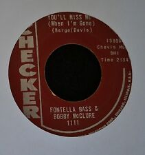 Fontella Bass & Bobby McClure Checker 13890 You'll Miss Me and Don't Jump