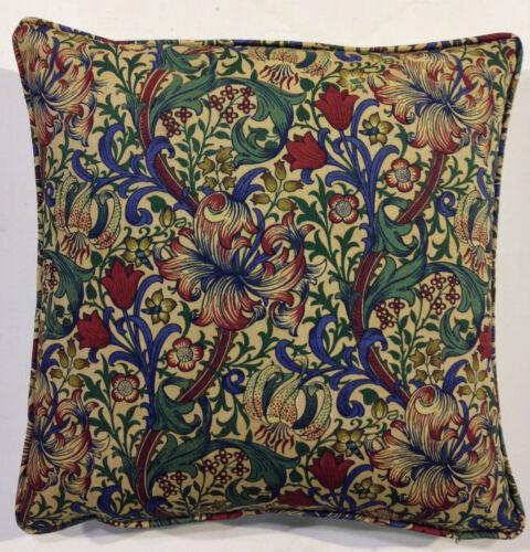 William Morris Golden Lily mineur PR7541//14 Housses de Coussin-plusieurs tailles
