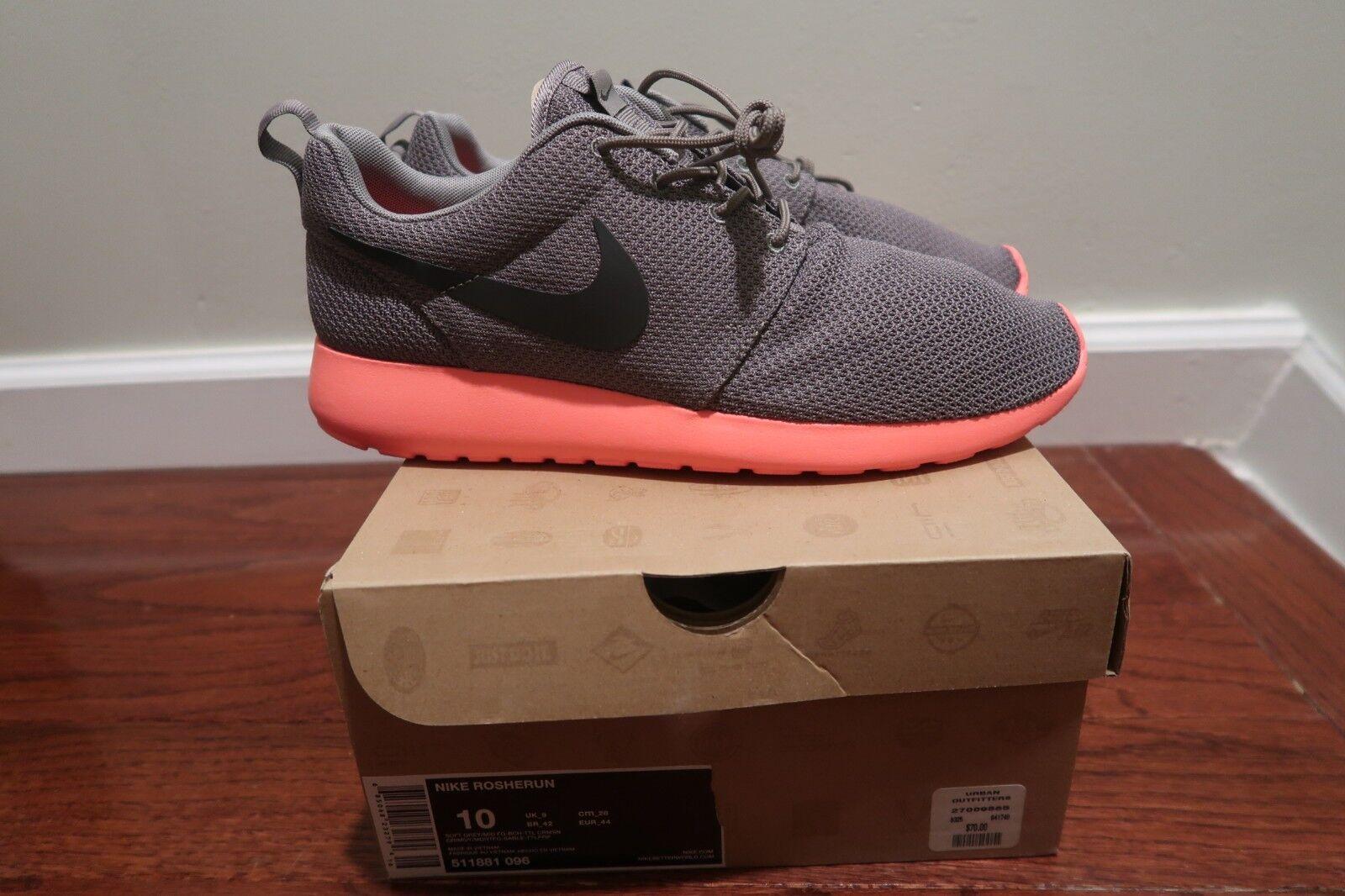 NEW Nike Roshe Run rosherun - Size 10 - 511881-096 Mango V2