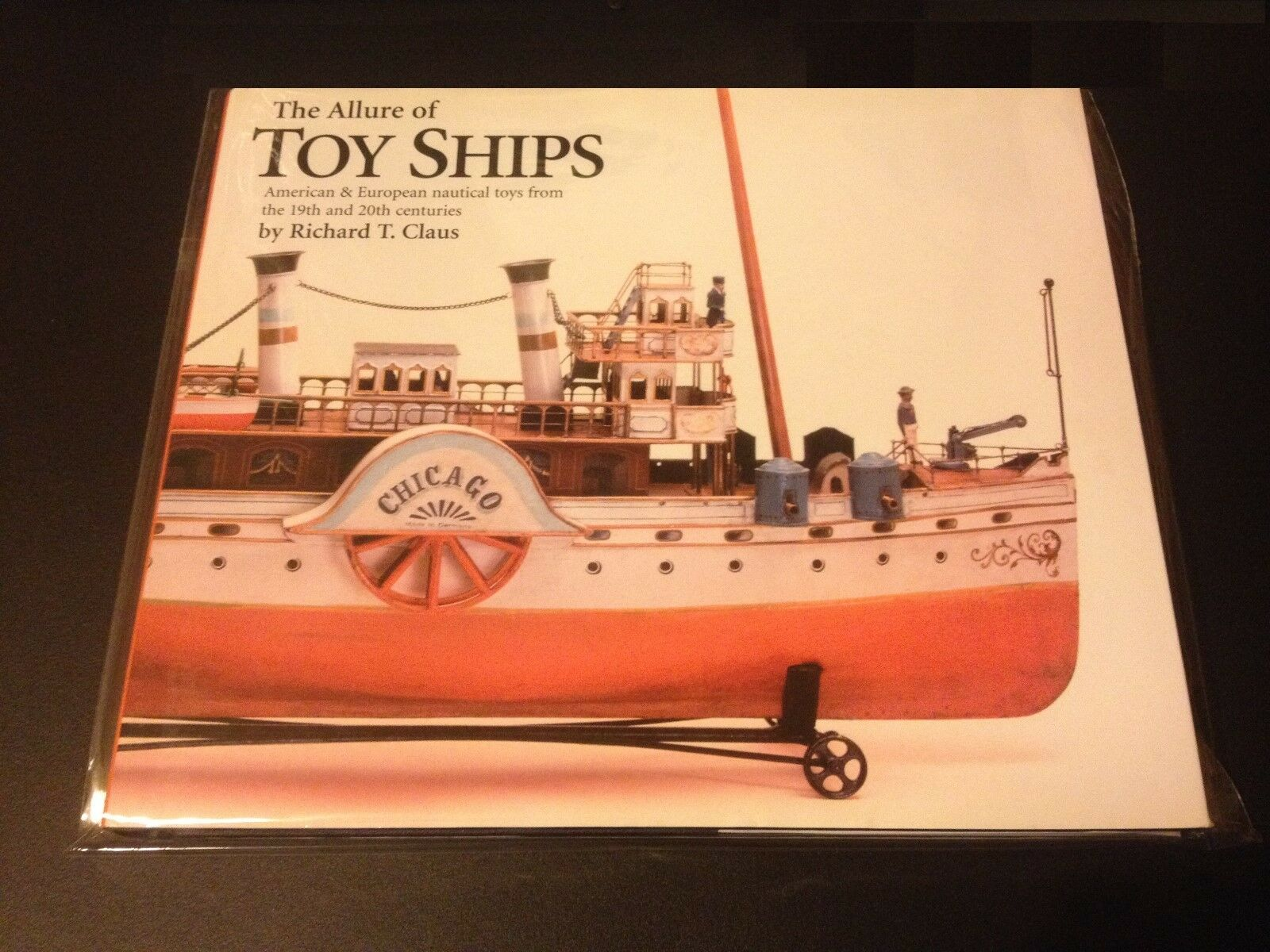 Libro Raro Allure De Juguete barcos 2005 Vintage Náutica Barco Juguetes DE HOJALATA MARKLIN Claus