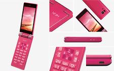 SHARP 501SH 504SH AQUOS KEITAI ANDROID 5.1 FLIP PHONE RED UNLOCKED NEW SH-06G
