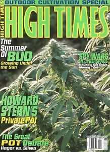 HIGH TIMES JUNE 1997 HOWARD STERN OUTDOOR CULTIVATION SPECIAL SUMMER OF BUD