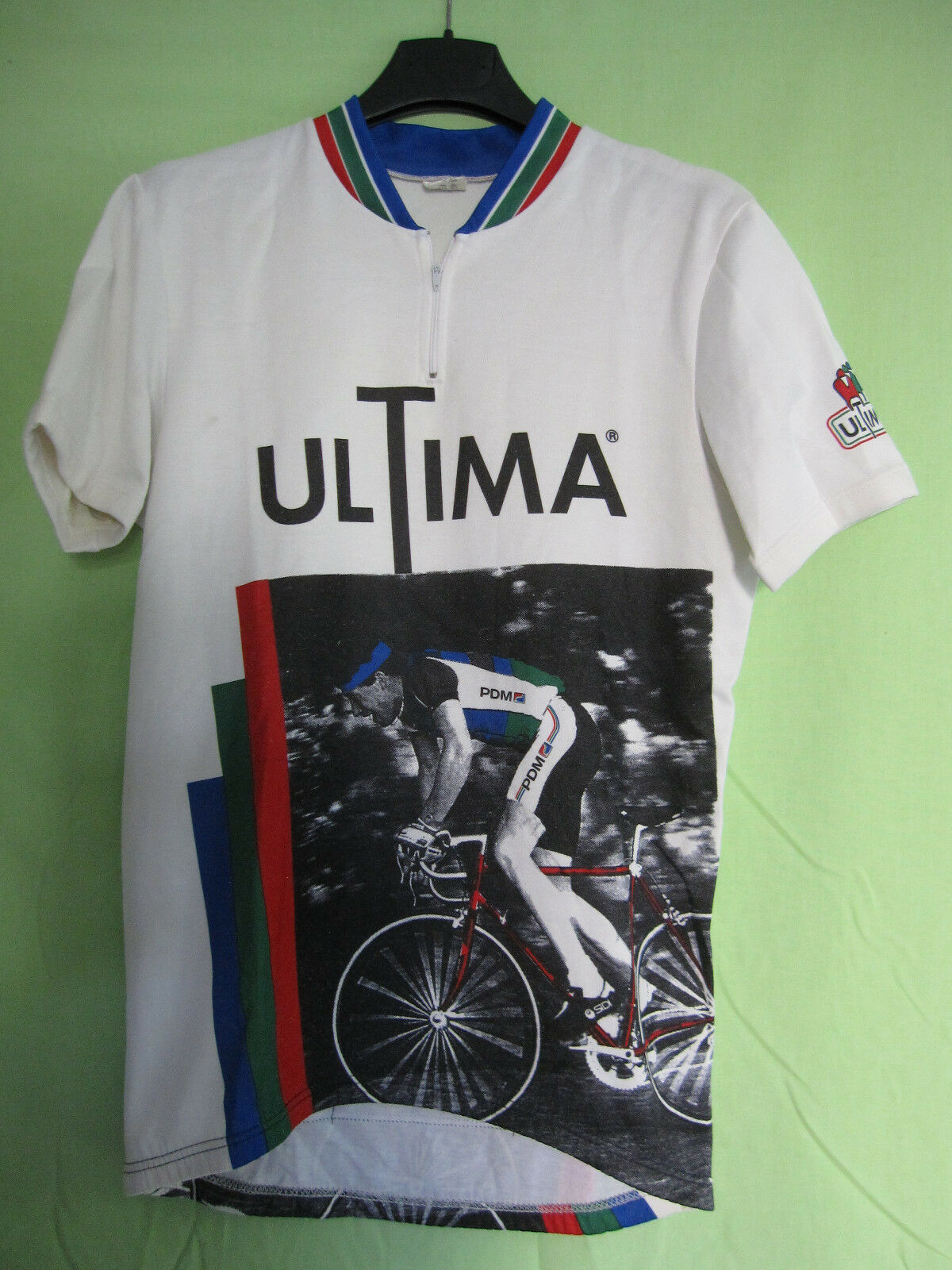 Maillot Cycliste vintage ULTIMA PDM shirt cycling 90'S Cycles - L